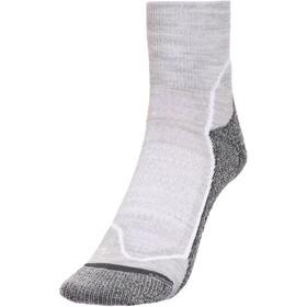 Icebreaker Hike+ Light Mini Socks Damen blizzard hthr/white/oil